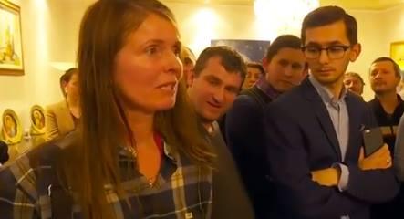 Cecilie Bedsvaag cu parlamentarii romani
